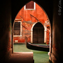 Venetian Keyhole, Italy