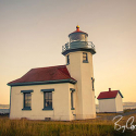 Vashon at Sunset, Point Robinson Lighthouse