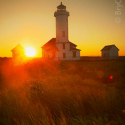 Sunrise at Point Wilson Lighthouse