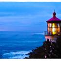 Heceta Head Lighthouse at Twilight