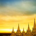 Tops of the Mountains, Salt Lake Temple