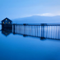 Serene Dock Home at Twilight