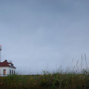 Point Wilson Lighthouse Panorama at Morning Dusk