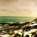 Pemaquid Point Lighthouse, Winter Sunset